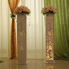 wedding decoration supplies wedding decoration supplies stage heart design carved pillar