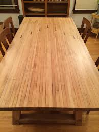 Lane Dining Room Furniture by Bowling Lane Dining Room Table Decor