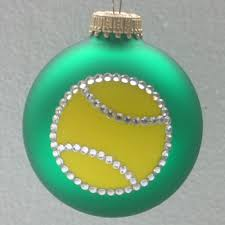 tennis ornament tennis tree ornaments sports