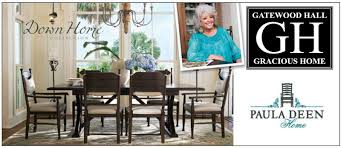 decorating dining room with round pedestal table by paula deen