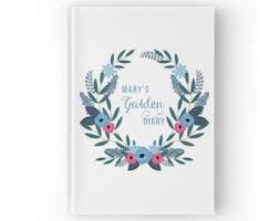 Personalized Garden Decor Garden Journal Etsy