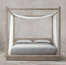Linen Bed Belgian Linen Bed Swag