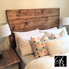 Reclaimed Wood Headboard by Reclaimed Wood Headboard Bed Handmade Double King Rustic Plank
