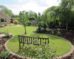circular lawn garden designs google search garden plan
