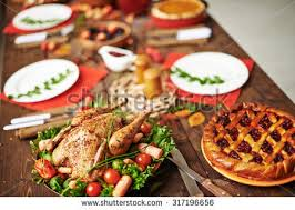 thanksgiving table stock images royalty free images vectors