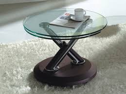 spectacular glass coffee table small on modern home interior