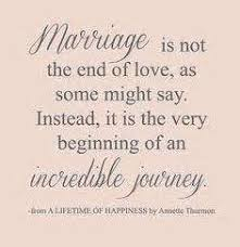 wedding quotes journey beautiful marriage quotes wedding ideas