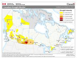 canadian map canadian drought monitor agriculture and agri food canada aafc