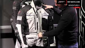 top motorcycle jackets rst pro series adventure ii jacket youtube