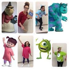 Monster Boo Halloween Costume Monsters Group Costumes Group Halloweendisney