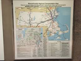 New York Bus Map by Comprehensive New England Regional Transportation Maps Massdot Blog