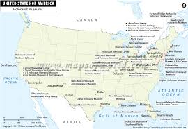 map us usa us map holocaust museums in usa