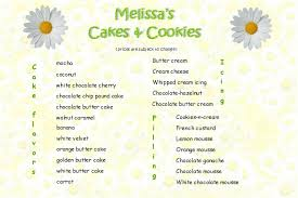 cake prices s cakes cookies menu and prices