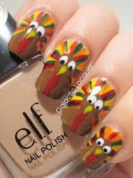 nail art ideas for thanksgiving choice image nail art designs