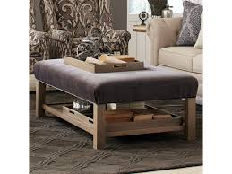 Ottoman With Tray Craftmaster Accent Ottomans Contemporary Storage Bench Ottoman