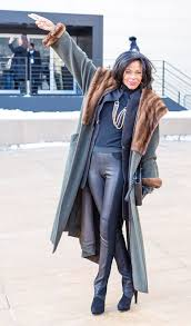 street style for over 40 12 streetstyle looks by women over 40 featuring leather