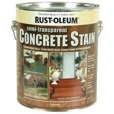 rust oleum concrete stain 1 gal sienna interior exterior semi rust oleum concrete stain 1 gal sienna interior exterior semi transparent stain