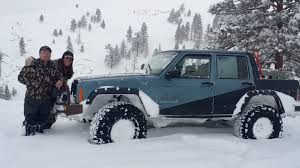 jeep snow tracks skull bound tv the ultimate stare down sportsman channel