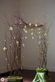 wedding arches made of branches wedding ceremony decorations wedding arch flower decoration 020lg