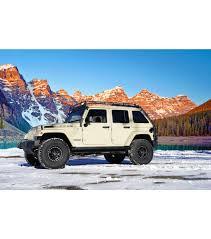 light blue jeep jeep jku45 4door stealth rack multi light setup gobi racks