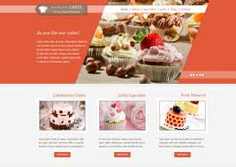 Cake Bakery 35 Bakery Website Themes U0026 Templates Free U0026 Premium Templates