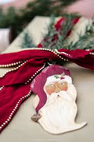 painted santa gift tag ornament more than 25 printables for