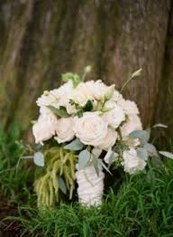 White Roses Centerpiece by White Roses Centerpiece By Rose Source Via Flickr Wedding