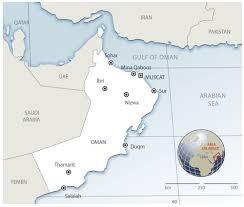 Map Of Oman Unlocking Potential In Oman Locations Bp Magazine Bp