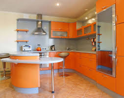 kitchen establish the awesome kitchens through the color