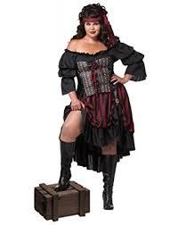 plus size pirate blouse amazon com california costumes s plus size pirate wench