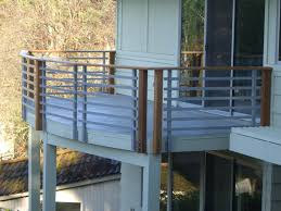 home design horizontal deck railing designs victorian medium
