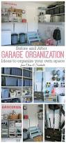 How To Organize Garage - how to organize the garage clean and scentsible