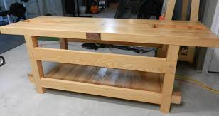 Building Woodworking Bench Making A Workbench Youtube