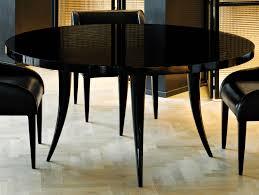 nella vetrina sabre modern italian round black wood dining table
