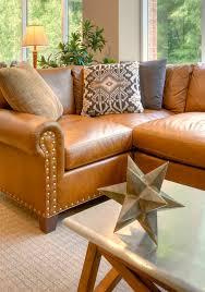 Distressed Leather Sofa Brown Caramel Leather Sofa Considering Caramel Leather Design Sponge