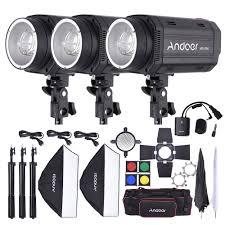 Barn Door Camera Mount by Andoer Md 250 750w 250w 3 Studio Strobe Flash Light Kit Sales