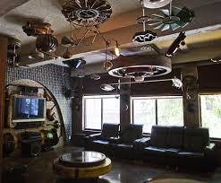 steunk home decor ideas punk industrial style decorating ideas steunk gears decor punk