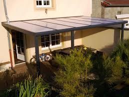 terrasse transparente toit terrasse transparent revêtements modernes du toit