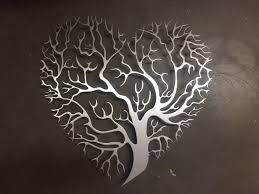 metal wall art etsy tree heart metal wall art tree metal wall art unique wall decor tree