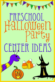 halloween game party halloween party center ideas for preschool kindergarten