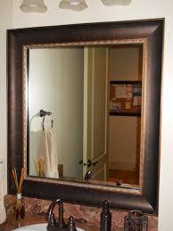 Bathroom Mirror Frame Kit Mirror Frame Kit Traditional Bathroom Salt Lake City By
