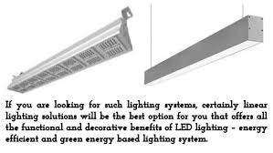 most efficient lighting system led linear lighting solutions the best and energy efficient lightin