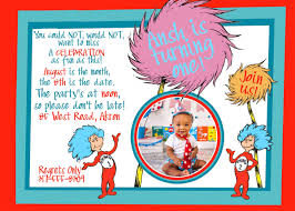 dr seuss birthday invitations invitation dr seuss theme