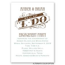 Betrothal Invitation Cards We U0027ll Say I Do Mini Engagement Party Invitation Invitations By Dawn