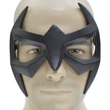black eye mask halloween costumes xcoser nightwing black resin eye mask grayson cosplay mask