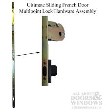 French Door Latch Options - marvin multipoint lock hardware
