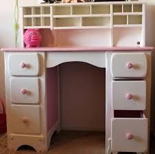 Vintage Kids Desk by Diy Diva Lil Pink U0026 White Desk Re Finished