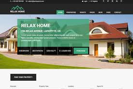 Bootstrap Real Estate Template relax home real estate template bootstrap themes creative market