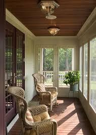 beautiful enclosed porch love the ceiling home interiors arc