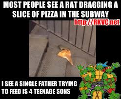 Single Father Meme - pizza rat caught on camera meme the news